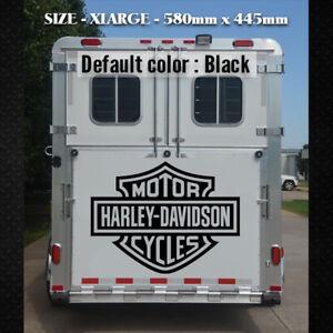 Large Harley Davidson  Vinyl Decal 580 x 445 mm