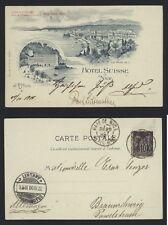 AK Nizza 1900 - Hôtel Suisse Nice - Promenade des Anglais La Prom - France PACA