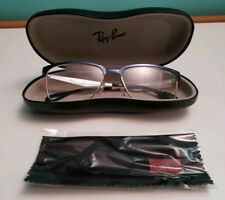 Ray Ban Eyeglasses RX6344 RX/6344 2863 Brushed Dark Blue Optical Frame 54mm