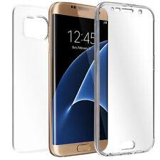 Samsung Galaxy S7 Edge Full Body 360 Silikon Schutzhülle Handyhülle Case Hülle