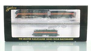 Bachmann Spectrum 4-8-4 J Class N&W 611 w/Aux Tender N scale