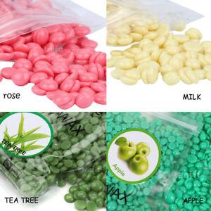 Brazilian Hard Wax Beads Beans Depilatory Waxing Apple Rose Milk Honey 100g 1Kg