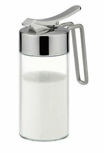 Tescoma Sahnekännchen Milchkännchen Sahnespender Milchgießer aus Glas Edelstahl