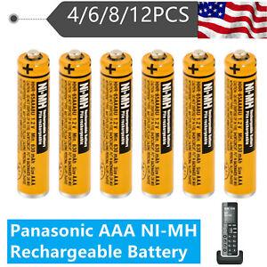 Panasonic HHR-65AAABU AAA NI-MH Rechargeable Battery Cordless Phones 630mAh 1.2V