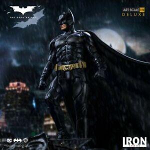 The Dark Knight Deluxe Art Scale Statue 1/10 Scale  Batman Iron Studios DC Movie