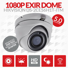 5MP HIKVISION  HDTVI TURBO 2.8MM EXIR Outdoor Turret Dome Camera DS-2CE56H1T-ITM