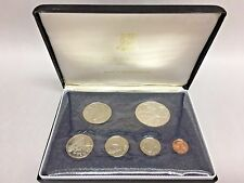 1974 Franklin Mint British Virgin Islands 6 Coin Proof Set COA