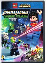 LEGO JUSTICE LEAGUE COSMIC CLASH (DVD, 2016)
