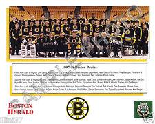 1997-1998 BOSTON BRUINS NHL HOCKEY 8X10 TEAM PHOTO BOURQUE ALLISON SAMSONOV