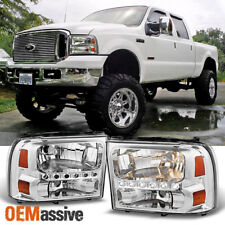 Fits 99-04 Ford F250/F350 Superduty 00-05 Excursion LED Headlights Corner Set