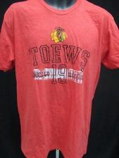 New Chicago Blackhawks Jonathan Toews Mens Size L Large Red Shirt MSRP