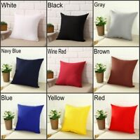 "Square Home Sofa Decor Pillow Cover Case Cushion Cover Size 16x16"" 18x18"""