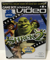 Game Boy Advance Video Shrek 2 W/ Free Headphones Inside Factory Sealed 2005 🔥