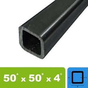 (41,00€/m) Stahlrohr 50x50x4 Vierkantrohr Quadratrohr Profilrohr bis 1000mm