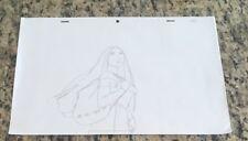 Disney Pocahontas Production Cel Pencil Drawing