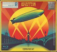 LED ZEPPELIN Celebration Day 2CD + Blu-Ray + DVD DELUXE BOXSET NEW FREE SHIPMENT