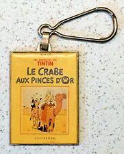 ANCIEN TINTIN PORTE CLÉ - CORNER/HERGÉ 'Le Crabe aux Pinces d'Or' BON ÉTAT Milou