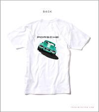 Green Porsche 911RSR  T Shirt Medium