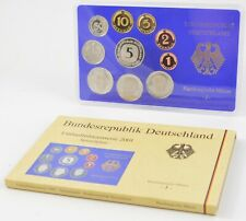 2001-J Germany 10 Coin Proof Set - Cased *810
