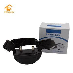 Pet safe Outdoor Waterproof Anti Stop Bark Collar Pet Training collar Uk Seller