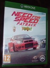 Need For Speed PayBack XBOX ONE XB1 NEW SEALED FREE UK post