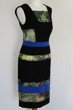 &OTHER STORIES Ladies Black SILK Panelled DRESS - Size EU 36 - US 6 - UK 10