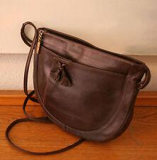 Vintage Tasche, lässige Handtasche, Designer Rolf Dey, Leder braun 100% Original