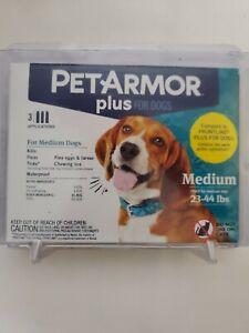 PETARMOR Plus for Dogs 23-44lbs. 3 Applications (flea eggs, larvae, lice)