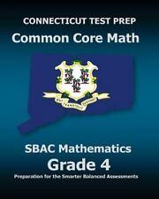 Connecticut Test Prep Common Core Math Sbac Mathematics Grade 4 : Preparation.