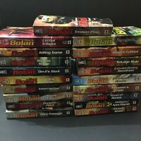 Lot of 19 Mack Bolan Novels Don Pendleton Books Action Adventure
