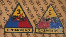 US Army 3rd Armored Division SPEARHEAD Tank Armor dress uniform patch