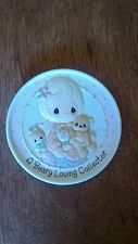 Precious Moments Rare Autographed A Beary Loving Collector Medallion