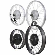 """20/24/26"""" Front Fat Wheel Electric Bicycle eBike Conversion Kit 48V 1kW/36V 750W"""