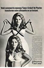 PUBLICITE   1969   PLAYTEX  soutien gorge