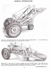 FARMALL 30 Power Loader Service Manual for Models H - M and MD Tractors