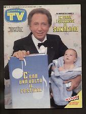 SORRISI 49/1989 BERLINO PROMESSI SPOSI NOCITA QUINN MICKEY ROURKE PAOLA TURCI