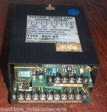 Omron Toyoda Touch Amp Voltage Sensor SDV-XB _ SDVXB _ 100VAC