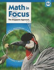 Math in Focus The Singapore Approach Grade 4 2009 Two Hardcover Books 4A & 4B