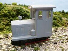 009 Com-Eng 4wm Diesel Locomotive Bodyshell. 3D Printed.
