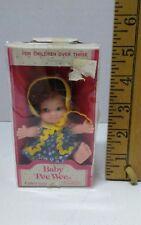 VINTAGE 1973 Uneeda BABY PEE WEE Doll Toy in BOX ex condition