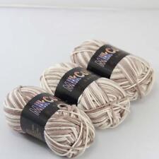 C Fashion 3ballx50g Cotton Baby Hand-dyed Wool Socks Scarf Yarn Knitting Yarn 12