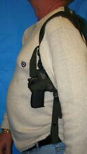 "SHOULDER GUN HOLSTER  3.4"" WALTHER P22 W / LASER  LAW ENFORCEMENT  SECURITY 201C"