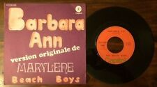 RARE FRENCH SP THE BEACH BOYS BARBARA ANN