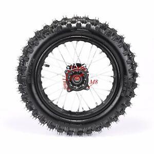 "12"" Inch Back Rear Wheel 80/100-12 Tyre Rim 15mm Axle For Pit Dirt Bike SSR CRF"
