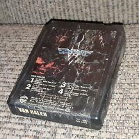 1978 Van Halen 8 Track Tape Self Titled WB M8 3075 Tested Works ED EDDIE EDWARD