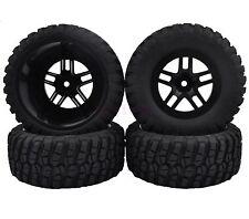 4PCS 108mm Soft Rubber Foam Tyres Tires RC 1/10 Traxxas Slash 4x4 Short Truck