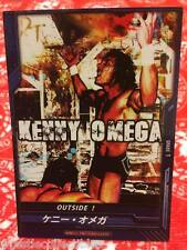 "DDT Pro-Wrestling ""Outside!"" Trading Card Kenny Omega NJPW WWE Bullet"