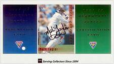 1994/95 Futera Cricket Trading Cards Signature Card SIG5: Mark Taylor--Rare!!