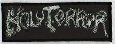HOLY TERROR PATCH / SPEED-THRASH-BLACK-DEATH METAL