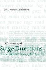 A Dictionary of Stage Directions in English Drama 1580-1642-ExLibrary